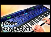DSI POLY EVOLVER (12 Voices) - Ambient Chillout Soundscape - Dave Smith Instruments 【SYNTH DEMO】