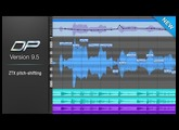 Digital Performer 9.5 ZTX PRO pitch-shifting technology