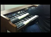 Tyrone on the Roland VK88 organ