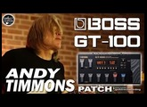 BOSS GT-100 ANDY TIMMONS Guitar Sound - DVD/CD Bossa Hits with Sydnei Carvalho.