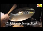 Zildjian A Custom Crash 17'' - The Drum Shop North Shore