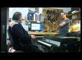 Brian Auger plays an Optical MIDI Rhodes