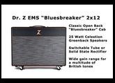 "Dr. Z EMS ""Bluesbreaker"" Combo Demo"