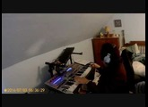cASIO xW-p1 AND rOLAND M-Vs1 sound demoth#2  C=64 remix