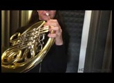 Test cabine acoustique cor - French horn booth test 2017