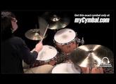 """Sabian 18"""" HHX X-Plosion Crash Cymbal - Brilliant (11887XB-1020812O)"""