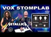 VOX Stomplab METALLICA Distortion Patch.
