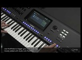Audio Link MultiPad - trigger your own audio files with MultiPads. Yamaha Genos