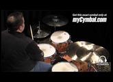 """Sabian 17"""" HHX X-Plosion Crash Cymbal (11787XB-1053113Z)"""