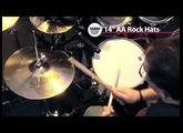 Sabian 14'' AA Rock Hats- Cymbal Demonstration