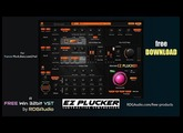 EZ Plucker RDGAudio New 2017 Subtractive Synthesizer VST Plugins Official FREE Download