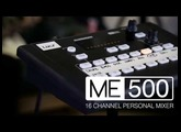 Introducing the ME-500 – 16 Channel Personal Mixer