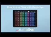 How to use Files with Remixlive | iOS 11 Tutorial