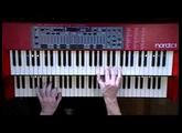 Centilater Blues - Nord C1 Hammond B-3 Organ Clone Clavia