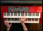 Smoke On The Water (Deep Purple) - Nord C1 Hammond B-3 Organ Clone Clavia