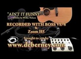 "Boss VE-8 - Demo ""AINT IT FUNNY"" (written by Willie Nelson)"