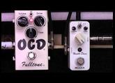 Fulltone OCD Drive Pedal Vs Mooer Hustle Drive Clone Pedal