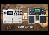 DD500 vs DD20 - Basic Modes