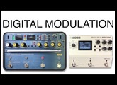Korg SDD 3000 vs Boss DD 500 Modulation