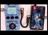 MARUKA楽器 楽器実験室『MIKU STOMPとMS-70CDRで空間サウンド』