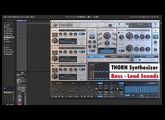 Dmitry Sches THORN Synthesizer Plugin (Sound Demo - Bass & Leads)