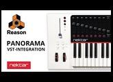 Nektar Panorama VST-Integration with Reason 9.5 and 10
