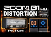 ZOOM G1on DISTORTION G1xon Mesa Boogie Amp Simulation [Direct PC].
