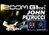 ZOOM G1on JOHN PETRUCCI DISTORTION G1xon Guitar Patches.