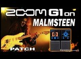 ZOOM G1on MALMSTEEN DISTORTION G1xon - Marshall Simulation.