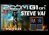 ZOOM G1on STEVE VAI DISTORTION G1xon - Guitar Patches.