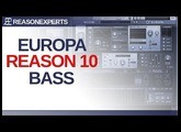 Creating a Bass using Europa in Reason 10