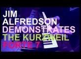 Kurzweil Forte - Demo pt II - Mecha Funk (no talking)