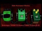 Tube Screamer Clones: Behringer TO800 VS Ibanez TS808 VS Joyo JF01