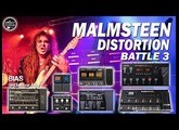 [BATTLE 3] MALMSTEEN Tone - Boss GT-100 vs POD HD500 vs Zoom G3, G1on vs Vox Tonelab vs Stomplab...