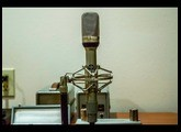 Vintage 1960's Neumann Gefell M582 tube mics and UM70 and M70 capsules demo -SOLD!