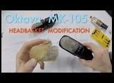 Oktava MK-105 Headbasket Mesh Grille Removal Mod