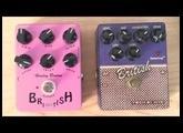 Tech 21 British Character serie VS Harley Benton British True Tone