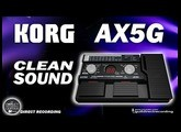 KORG AX5G CLEAN SOUND Som Limpo Toneworks [Patch Settings].