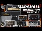 [BATTLE 5] MARSHALL DISTORTION - Zoom G5 vs Boss GT-100 vs BIAS FX vs Vox Tonelab vs Zoom G3...