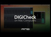 Using RME Audio DIGICheck on Mac Computers