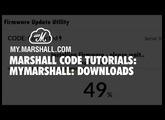 Marshall CODE Tutorials: MyMarshall - Downloads