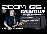 ZOOM G5n DAVID GILMOUR Sound on Sound Effect - Freeze [G5n, G3xn Patches].