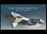 Cargo Spaceship Sound Effects - Scifi Engine and landing SFX - Beep and Interface Sounds