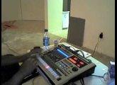 Daft Punk -Harder Stronger Faster Remix on MC-808