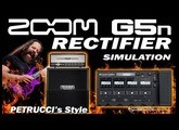 ZOOM G5n RECTIFIER Distortion Petrucci's Style [G5n Patches].