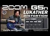 ZOOM G5n STEVE LUKATHER Distortion [G5n presets].