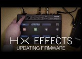 HX Effects Updating Firmware