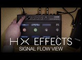 HX Effects SIgnal Flow