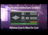 Tutoriel Ableton Live - Application VideoSync [macOS]