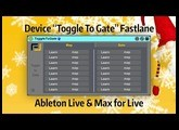 Tutoriel Ableton Live - Toggle To Gate (Device Max for Live)